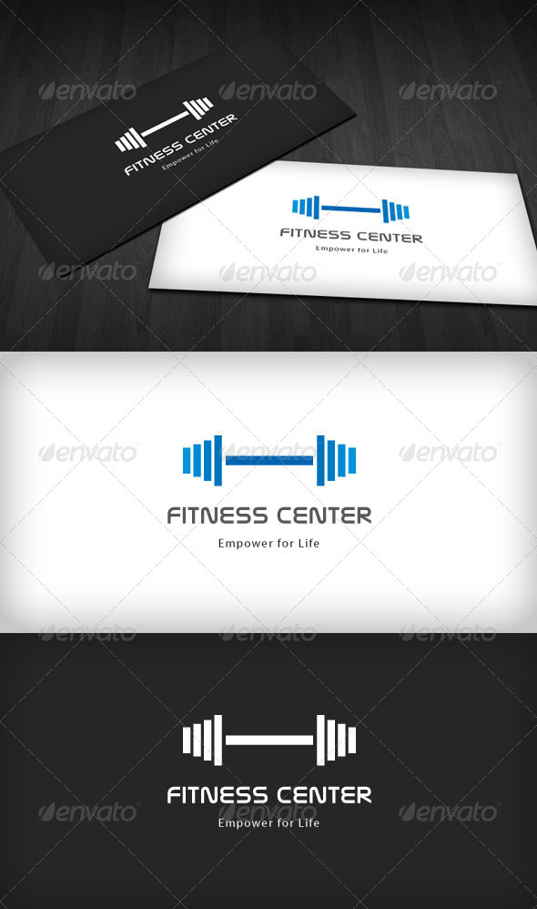 Fitness Center Logo - Humans Logo Templates