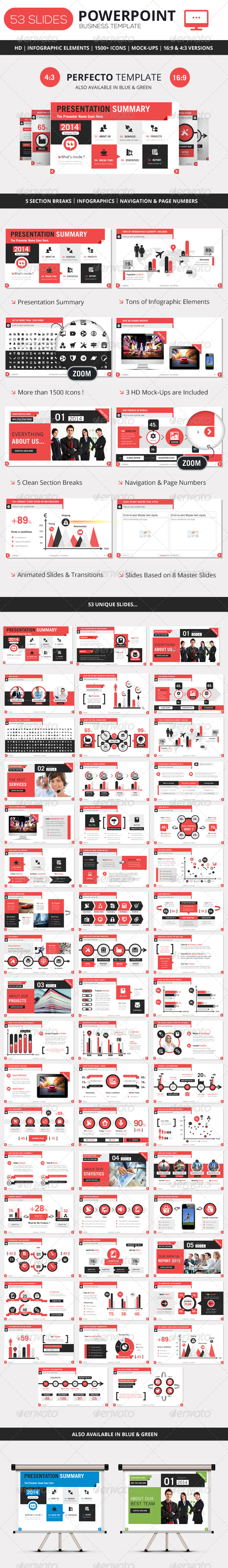 GraphicRiver PowerPoint Business Presentation Template 5716133
