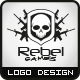 Rebel Games Logo - GraphicRiver Item for Sale