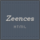 Zeences - HTML Portfolio &amp;amp; Business Template - ThemeForest Item for Sale