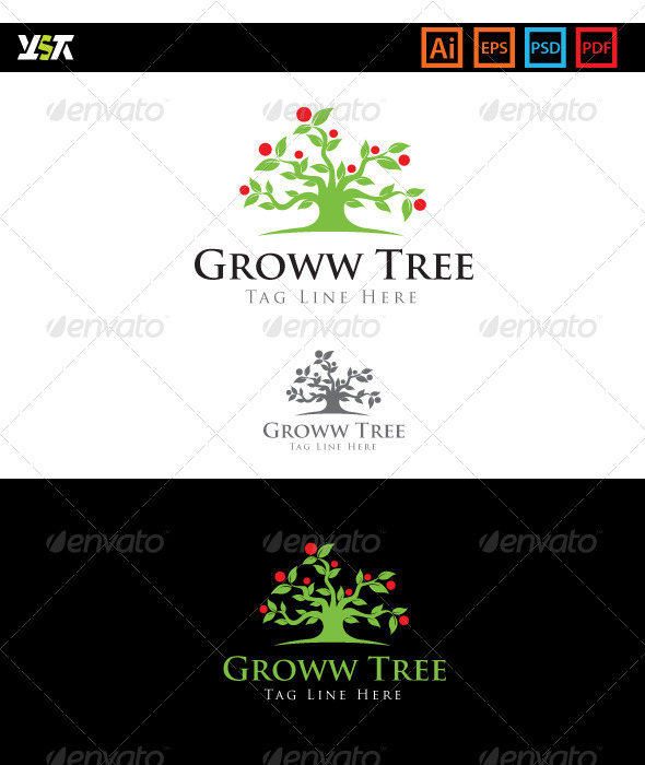 GraphicRiver Groww Tree 5717622