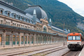 Abandoned railway station of Canfranc, Huesca, Spain - PhotoDune Item for Sale