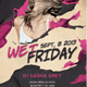 Wet Friday Party - GraphicRiver Item for Sale