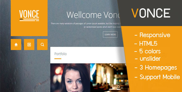 Vonce - Creative Site Templates