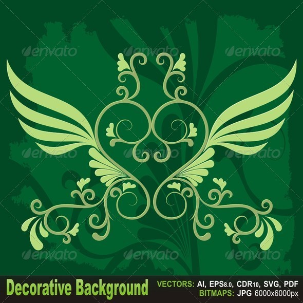 GraphicRiver Decorative Background 5720133