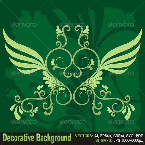 GraphicRiver Decorative Background 5720133