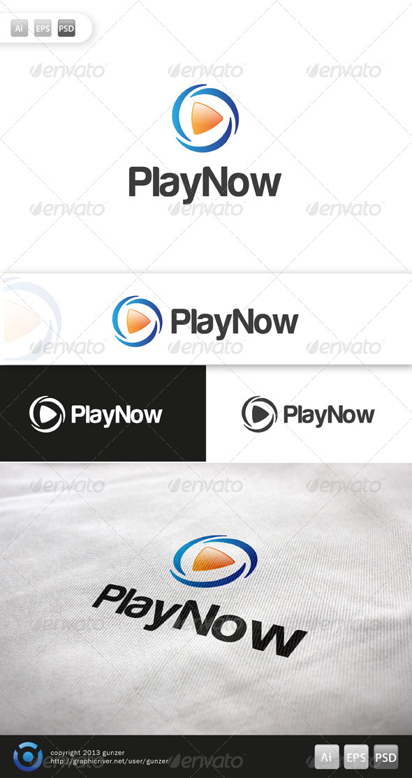 GraphicRiver Play Now Logo 5708166