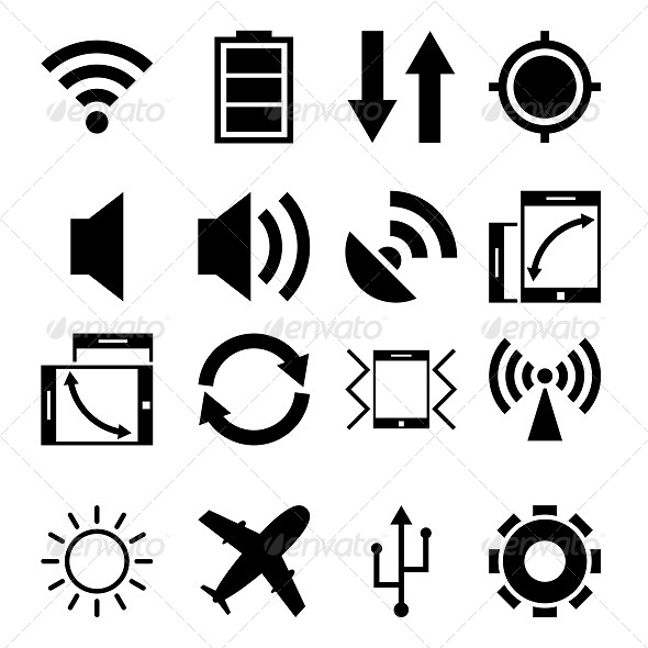 GraphicRiver Mobile App Icons 5709980