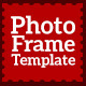 Photo Frame Template V1 - GraphicRiver Item for Sale