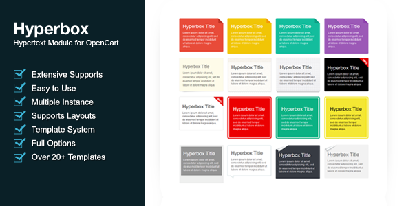CodeCanyon Hyperbox Hypertext Module For OpenCart 5725442
