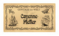 German spice label  Cayenne-Pfeffer (Cayenne pepper) - PhotoDune Item for Sale