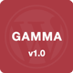Gamma – Mobile Retina | HTML5 and CSS3 WordPress (Mobile) Download