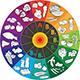 Vitamin Wheel Vector - GraphicRiver Item for Sale