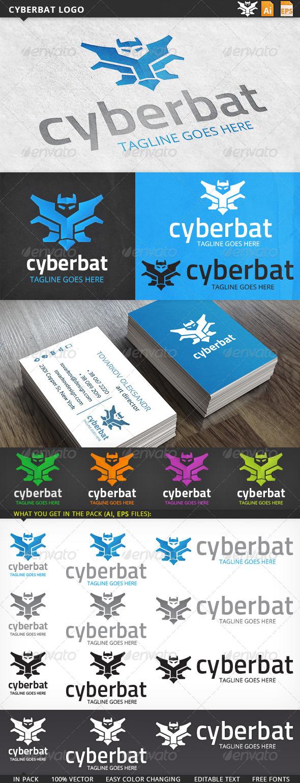 GraphicRiver Cyberbat Logo 5728383