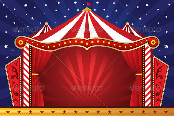 GraphicRiver Circus Background 5728715