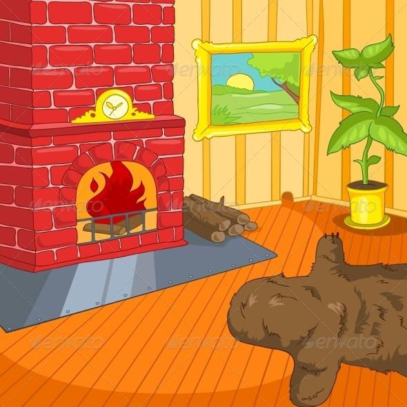 GraphicRiver Room Cartoon 5729138