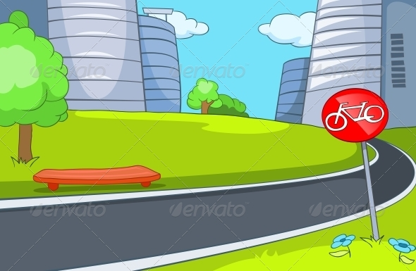 GraphicRiver City Cartoon 5729169