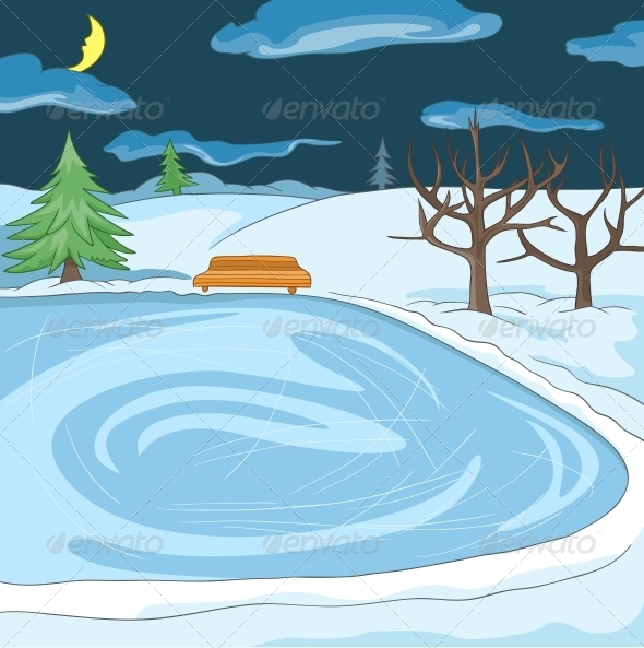 GraphicRiver Outdoor Skating Rink 5729170