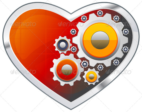 GraphicRiver Mechanical Functioning of Heart 5732494