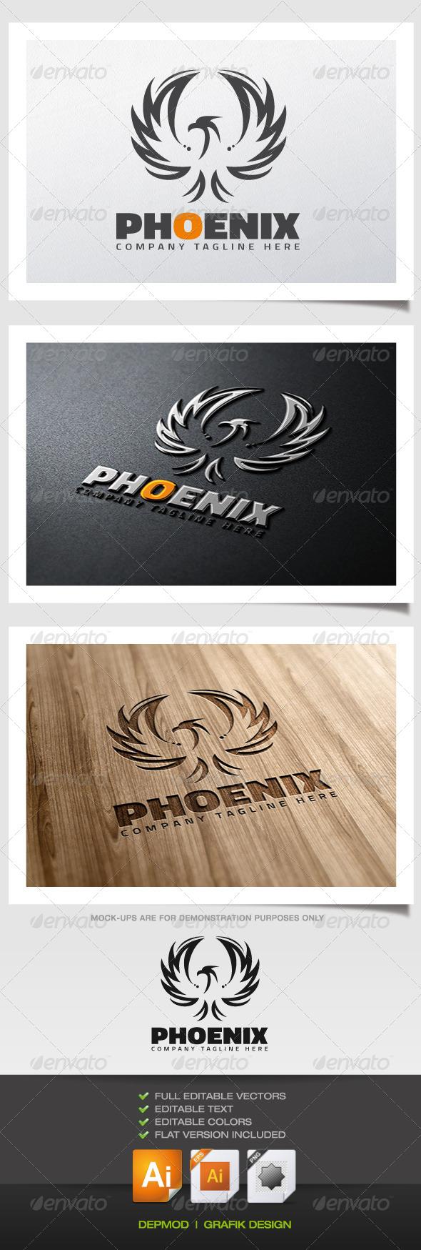 GraphicRiver Phoenix Logo 5732686