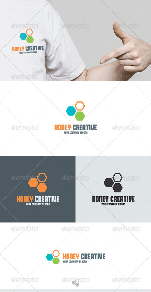 GraphicRiver Honey Creative Logo 5732918