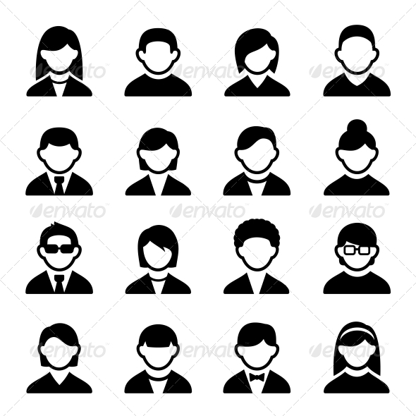 GraphicRiver User Icons Set 2 5732965
