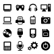 Multimedia Gadget Icons Set - GraphicRiver Item for Sale