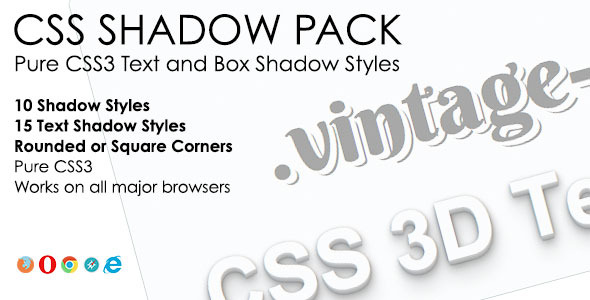 CodeCanyon CSS Shadow Pack 5733673