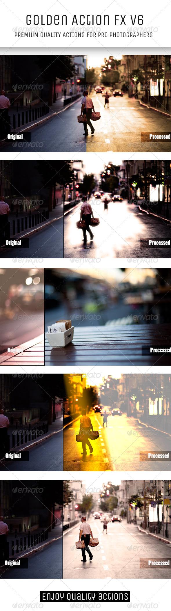 GraphicRiver Golden Action FX V6 5734877