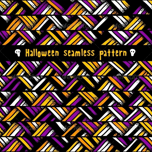 GraphicRiver Halloween Seamless Background 5735273