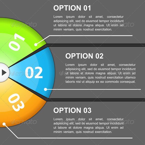 GraphicRiver Design Template with Three Options 5735493