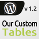 Our Custom Tables - CodeCanyon Item for Sale