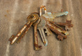Old rusty keys - PhotoDune Item for Sale