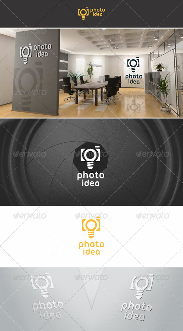 Photo Idea Logo Template - Objects Logo Templates