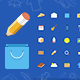 25 Vector Icons For Web - GraphicRiver Item for Sale