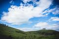 Green field. Blue Sky. Hills - PhotoDune Item for Sale