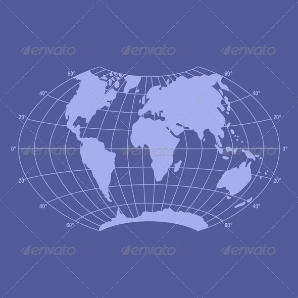 GraphicRiver World Map 5739427