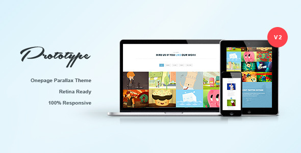 Prototype - Responsive One Page Template