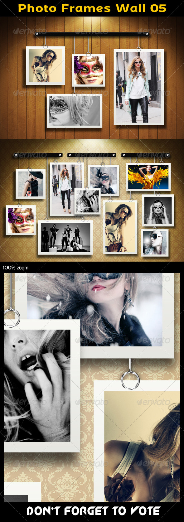 GraphicRiver Photo Frames Wall 05 5717918