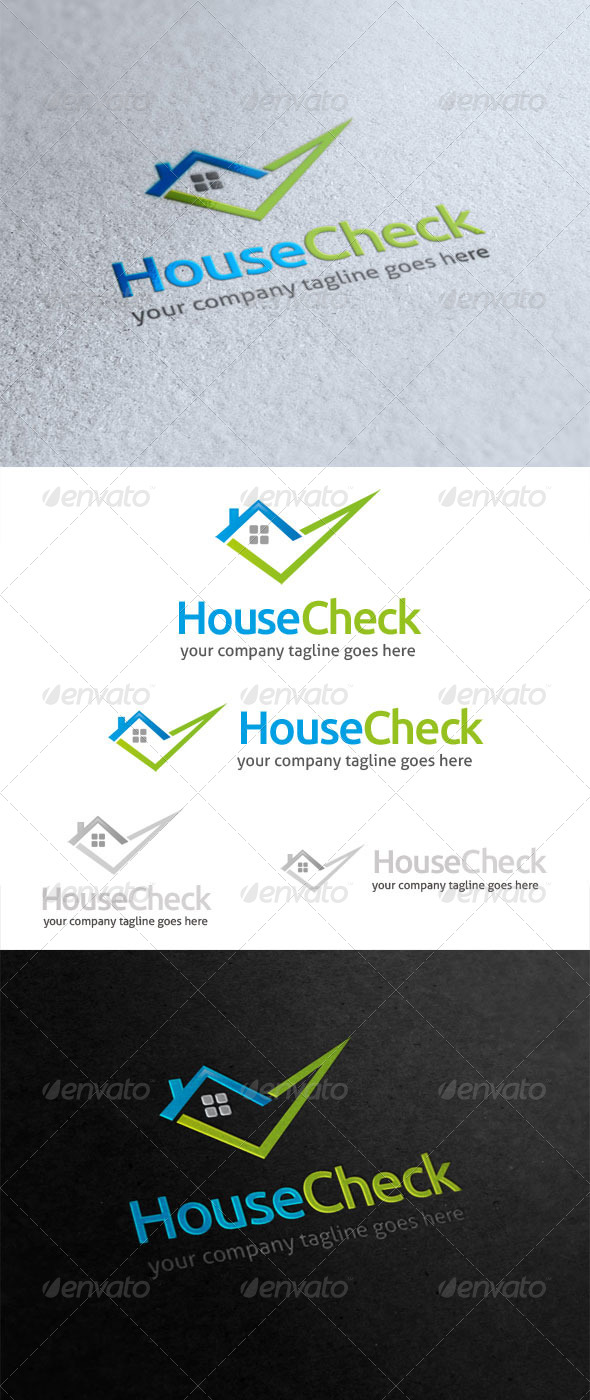 GraphicRiver House Check Logo 5740431