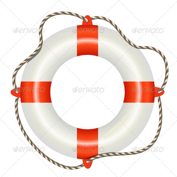 GraphicRiver Lifesaver Buoy 5740497