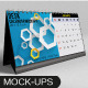 Desk Calendar Mockups - GraphicRiver Item for Sale