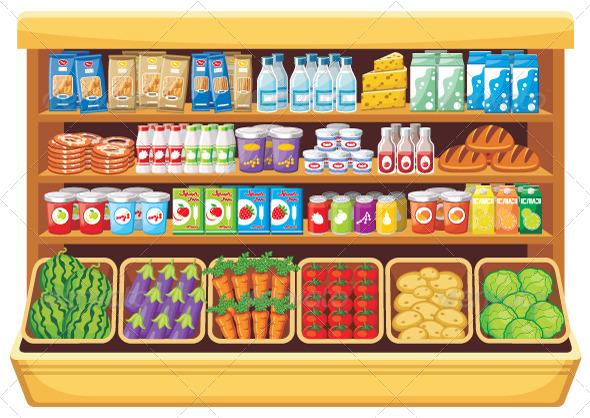 GraphicRiver Supermarket 5741352