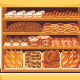 Supermarket Bread Showcase - GraphicRiver Item for Sale