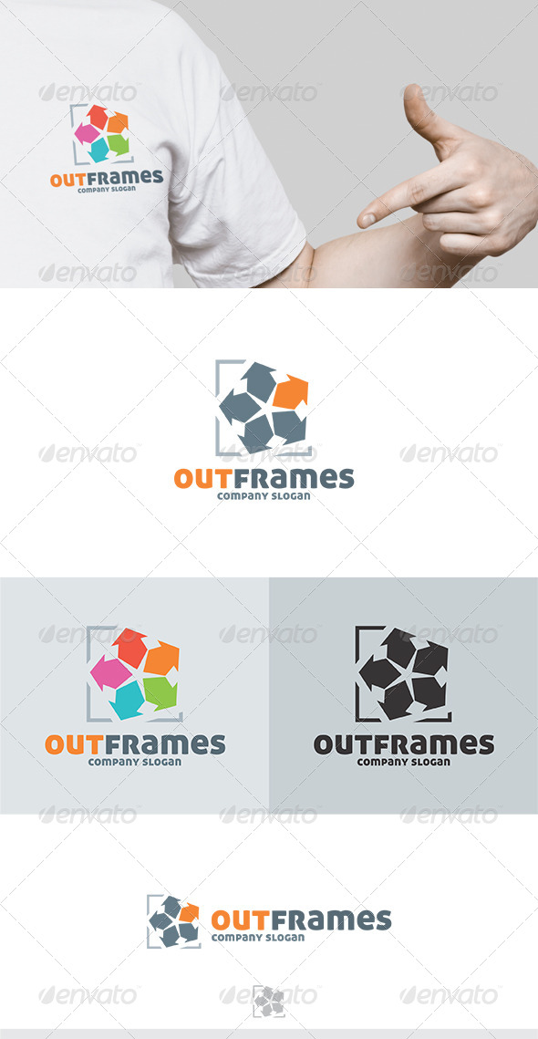GraphicRiver Out Frames Logo 5741525