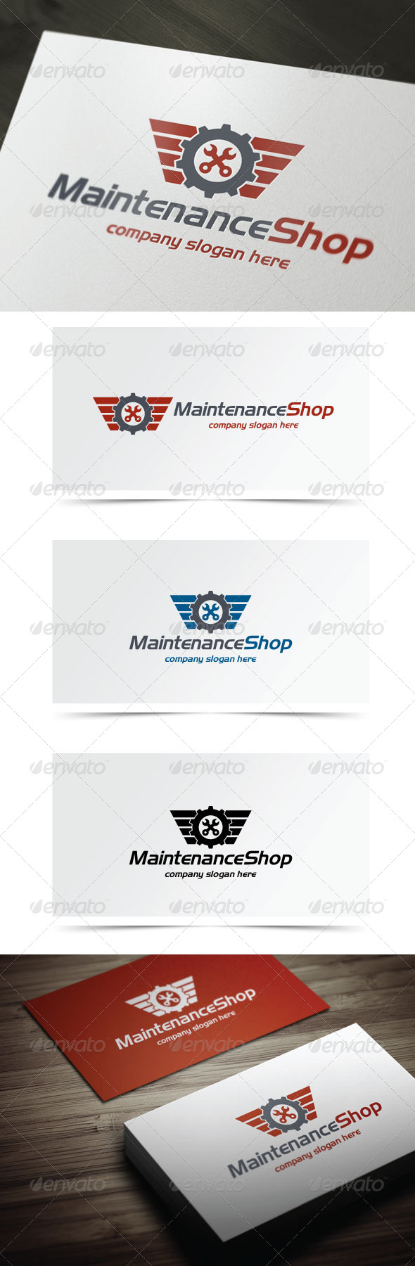 GraphicRiver Maintenance Shop 5741836