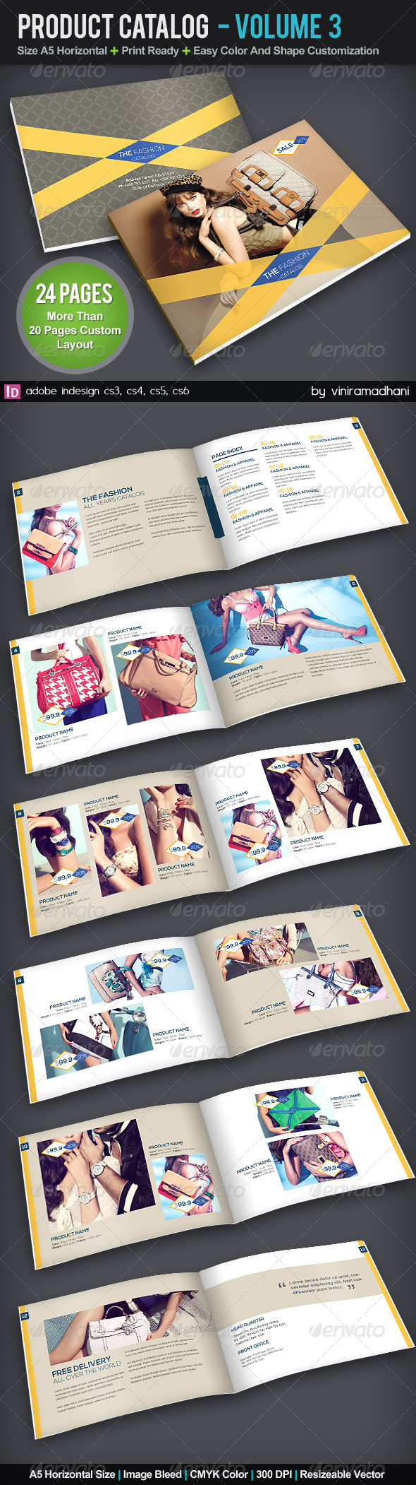 GraphicRiver Product Catalog Brochure 5741844