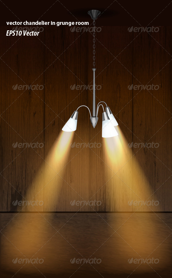 GraphicRiver Chandelier Light 5741895