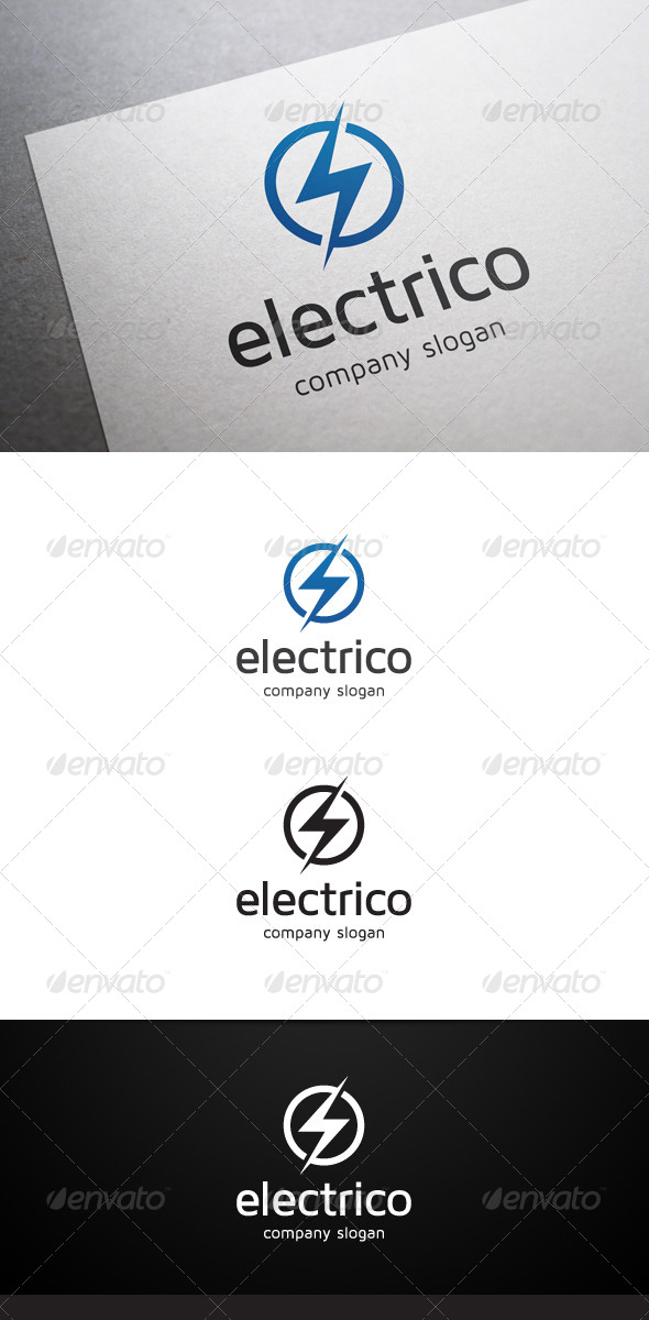 GraphicRiver Electrico Logo 5742003