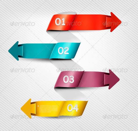 GraphicRiver Infographics Banner with Numbers 5742078